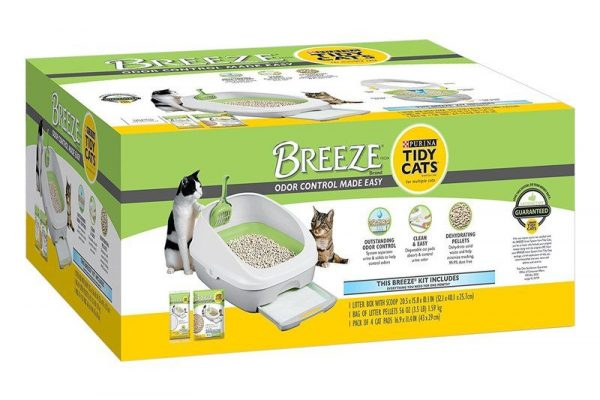 Breeze Litter Box System review