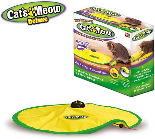 Cat's Meow electronic toy package.