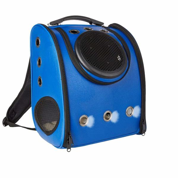 MASVIS bubble backpack with lots of ventilation holes for your cat.
