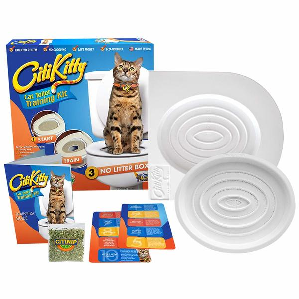 CitiKitty Cat Toilet Training Kit full package.