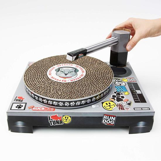 Suck UK Cat Scratching DJ Deck buy