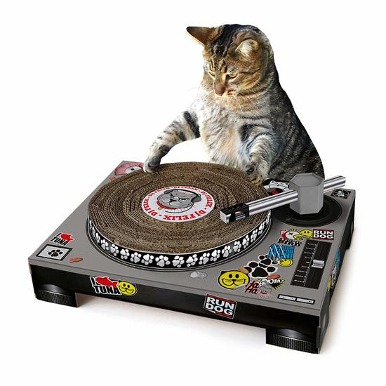 Suck UK Cat Scratching DJ Deck review