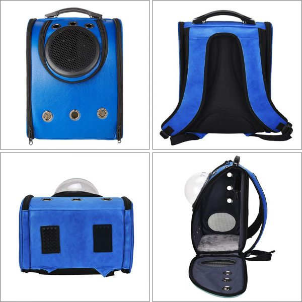 blue masvis cat backpack