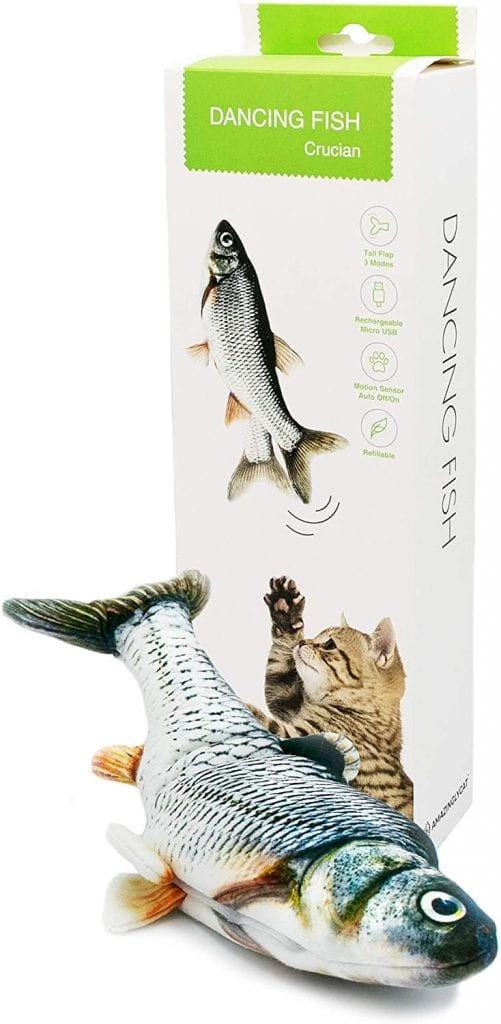 Dancing Fish Toy for Indoor Cats