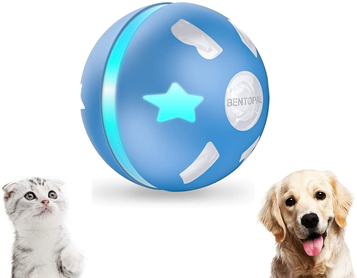 Petroid electronic ball for cats