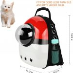 AntTech Breathable Backpack can fit cats up to 10 lbs.
