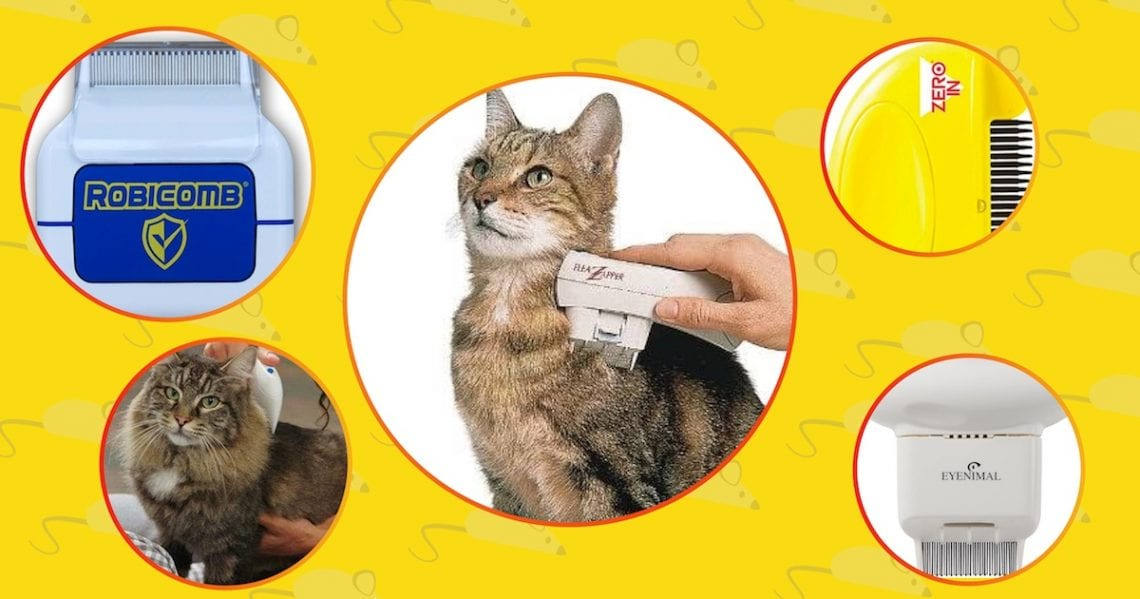 Best electric flea combs for cats