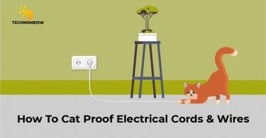 How to cat proof electrical cords & wires