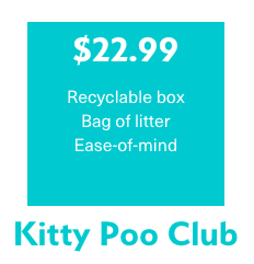Kitty Poo Club Subscription price