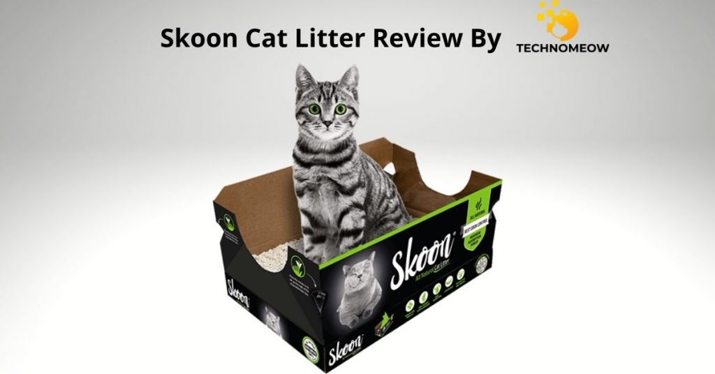 Skoon cat litter review by Technomeow