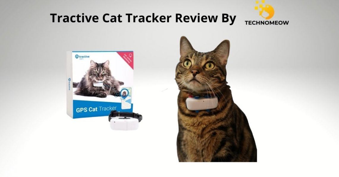 Tractive cat GPS tracker review by Technomeow