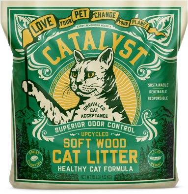 Catalyst cat litter subscription package